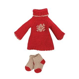 Jersey y calcetines de punto navideño (Maxi)