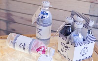 Envía un mensaje con «Message in the bottle»